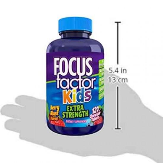 FOCUSfactor-Kids-120츄어블-어린이집중력.기억력