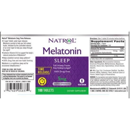 멜라토닌5mg-250정