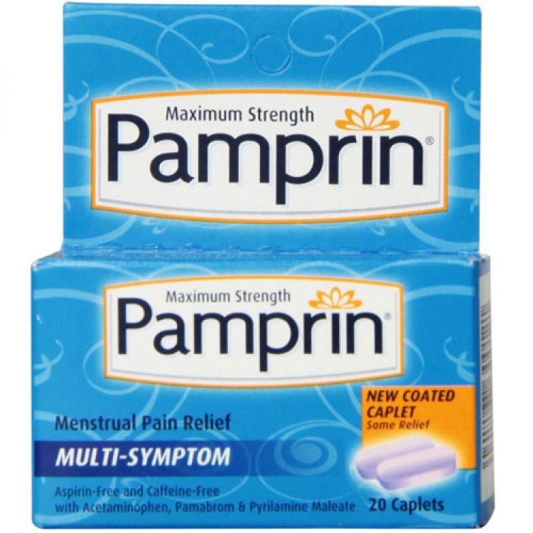 Pamprin-판피린생리통증-20