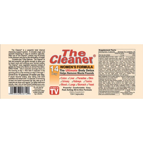 THE Cleaner-14Day (여성용)-토탈바디클리너