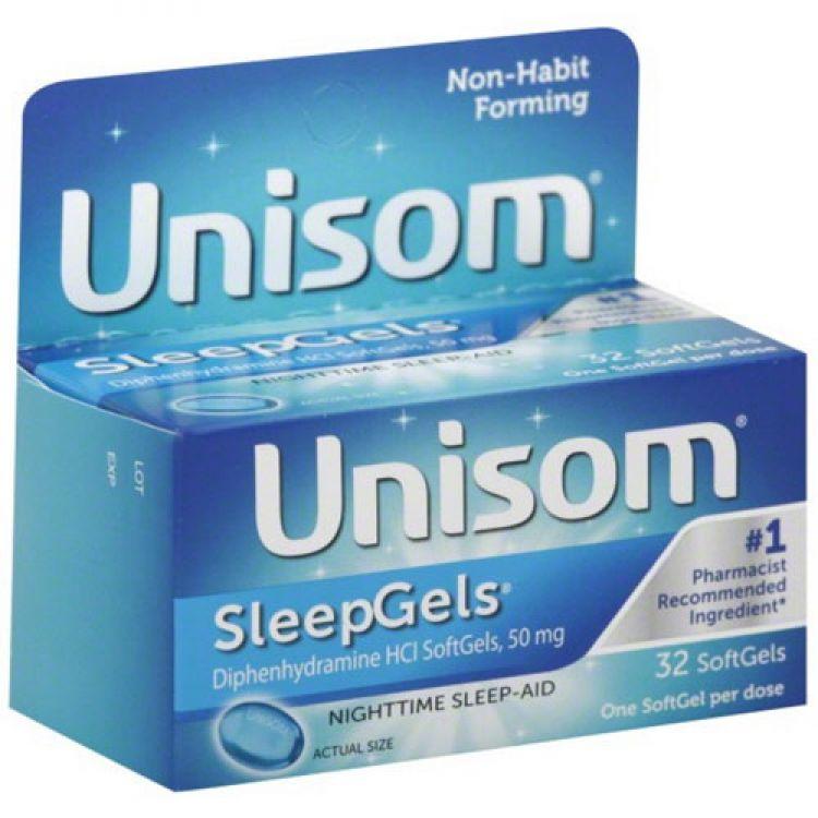 Unisom SleepGels-유니좀수면제-32