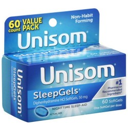 Unisom SleepGels-수면제-60